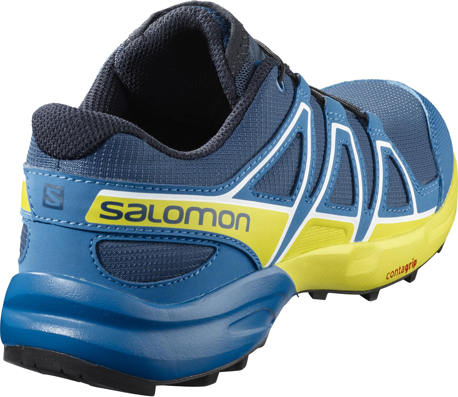 Salomon Speedcross Buty do biegania Dzieci, poseidonsky diversulphur spring